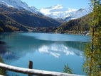 The Lago di Gioveretto in the Val Martello